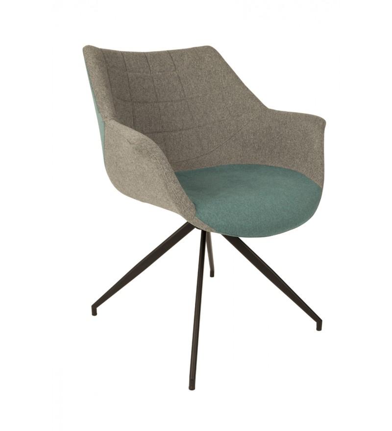 Fotel tapicerowany Doulton Zuiver - różne kolory