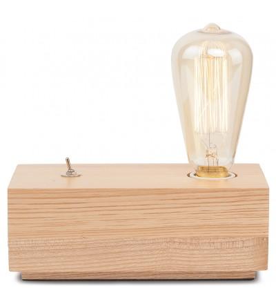 Lampka nocna Kobe It's About RoMi - naturalne drewno