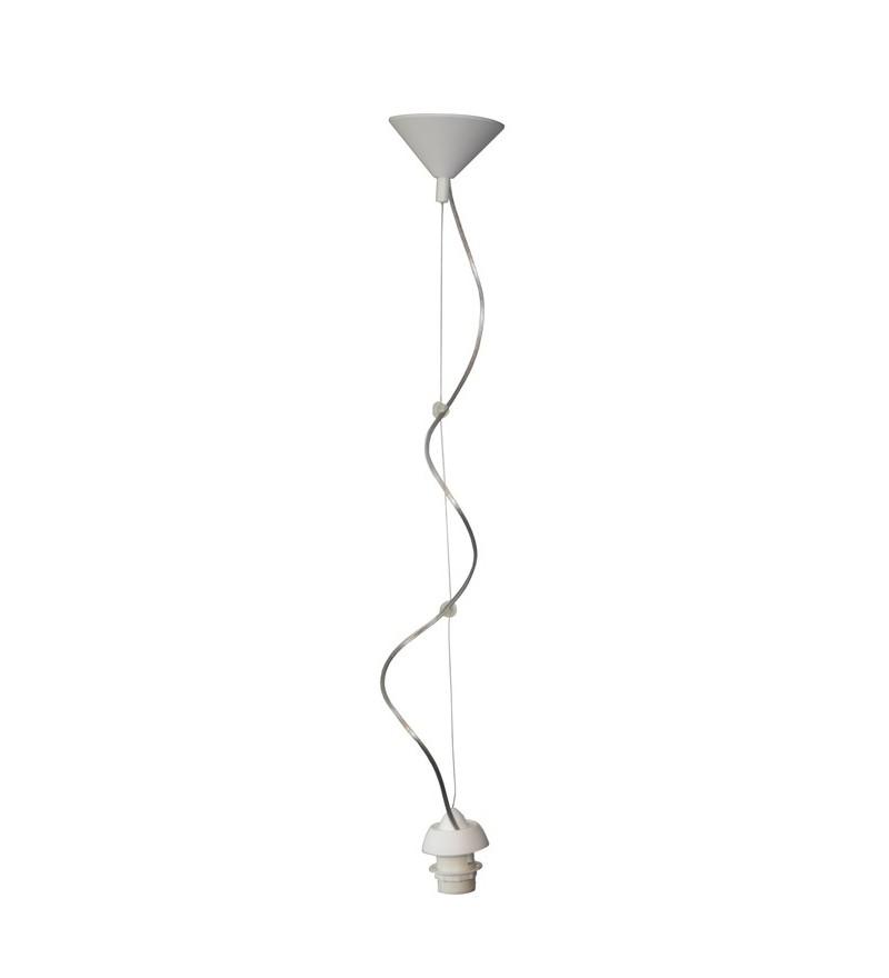 Zawieszenie lampy regulowane - białe