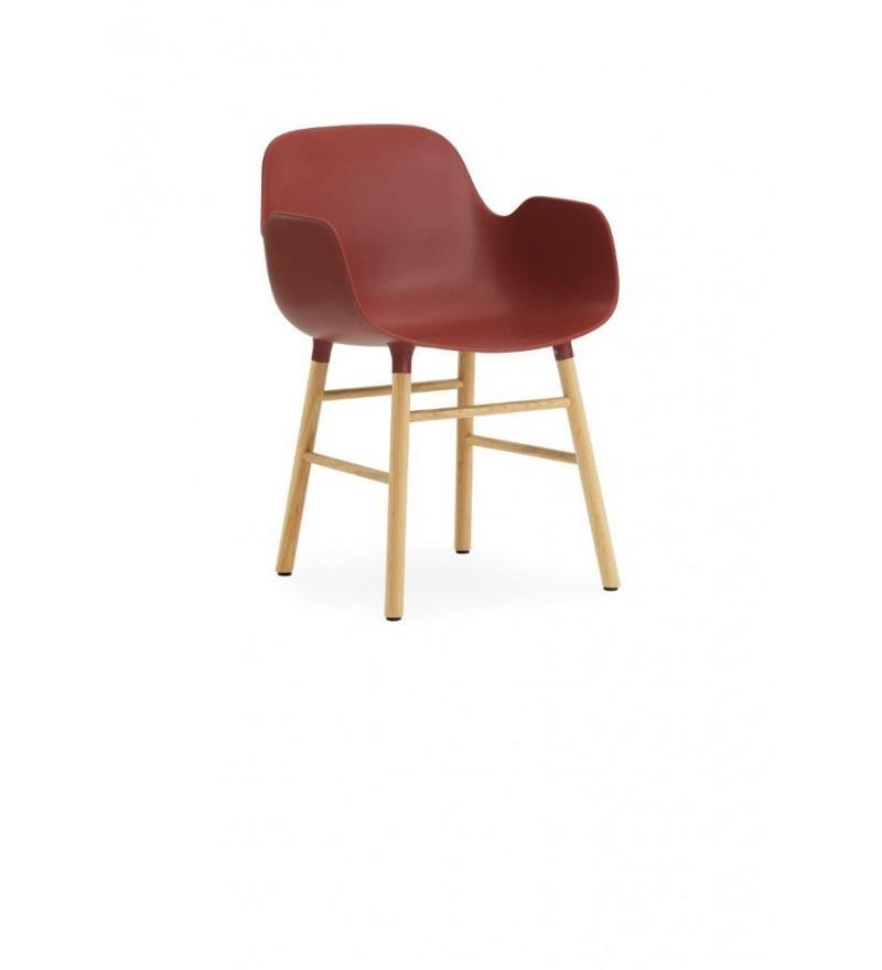 Fotel na dębowych nogach FORM ARMCHAIR Normann Copenhagen - kilka kolorów