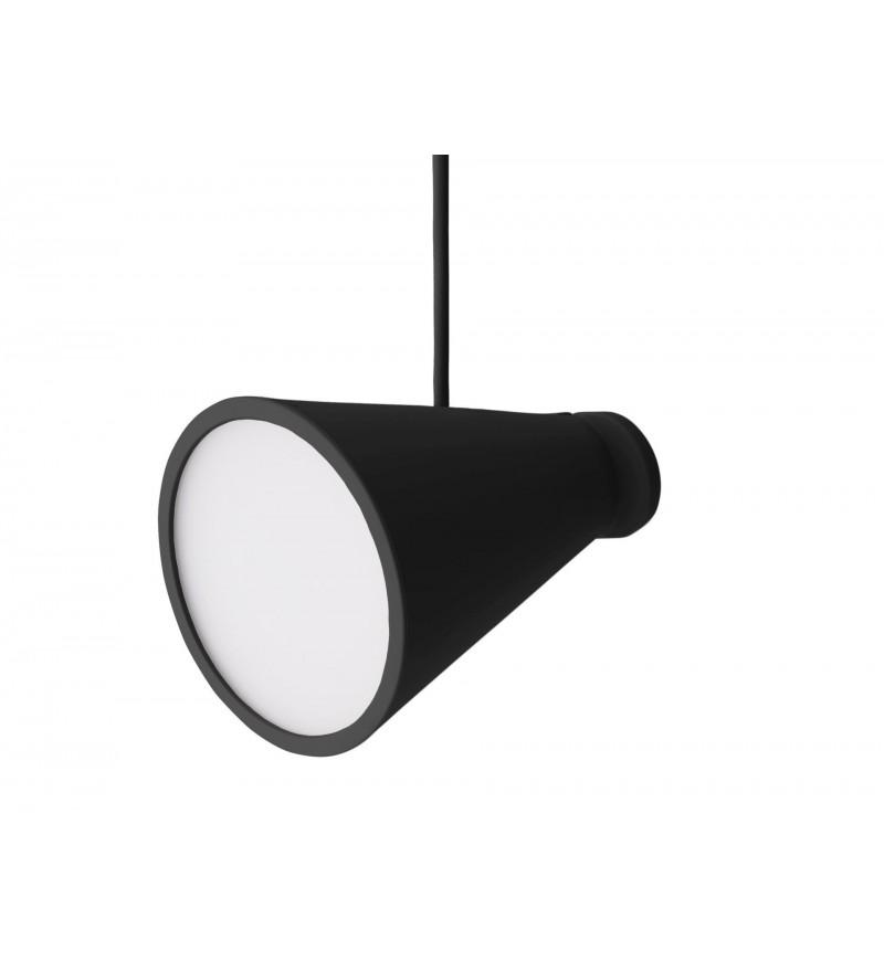Lampa Bollard Menu - czarna