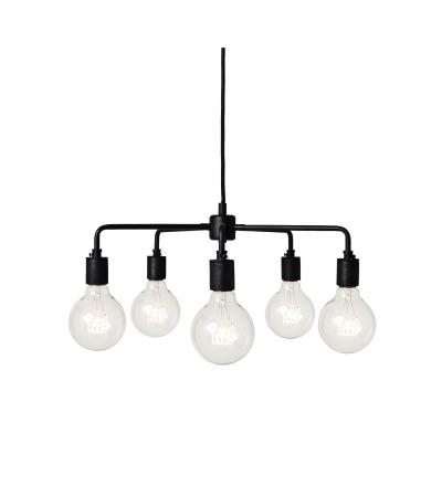 Lampa wisząca Leonard Menu - czarna