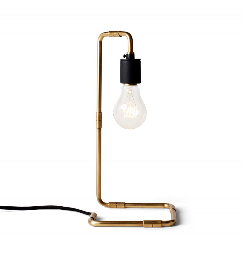 Lampa stołowa Reade Menu - mosiądz