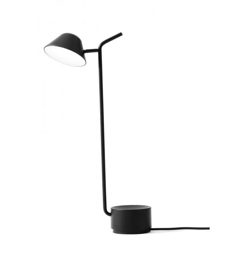 Lampa biurkowa Peek Menu - czarna