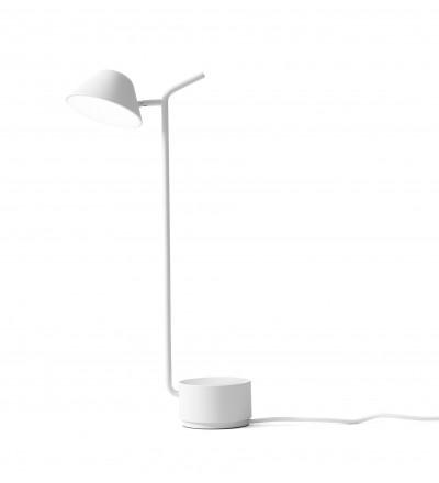 Lampa biurkowa Peek Menu - biała