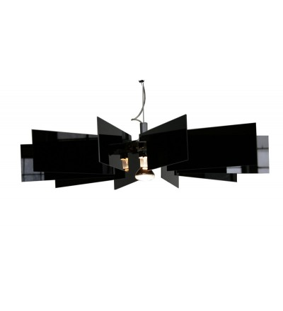 Lampa Al-verd B Kafti Design - czarna