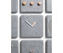 Zegar ścienny Menu Felt panel