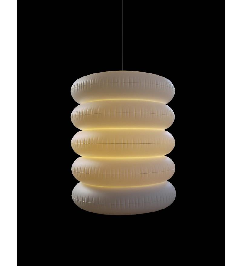 Lampa wisząca podwójna zewnętrzna Big Puff - PUFF-BUFF Design