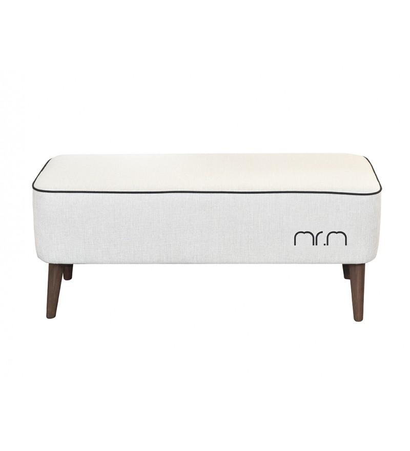 Ławka Mr. M od Monkey Machine - kremowa