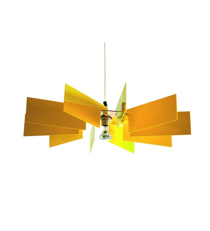 Lampa Al-verd Y Kafti Design - żółta