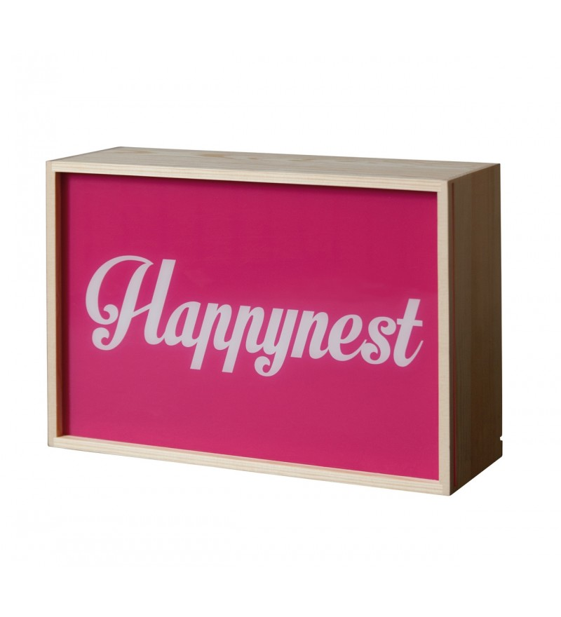 Lampa / kaseton Lighthink Box Seletti - rozmiar 30 x 21 cm