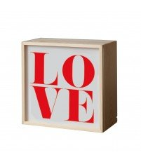 Lampa / kaseton Lighthink Box Seletti - rozmiar 21 x 21cm