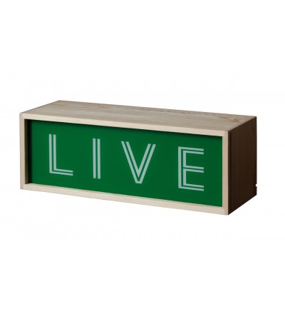 Lampa / kaseton Lighthink Box Seletti - rozmiar 30 x 10.5 cm