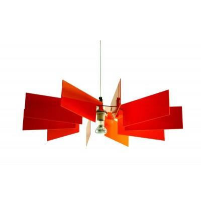 Lampa Al-verd O Kafti Design - pomarańczowa