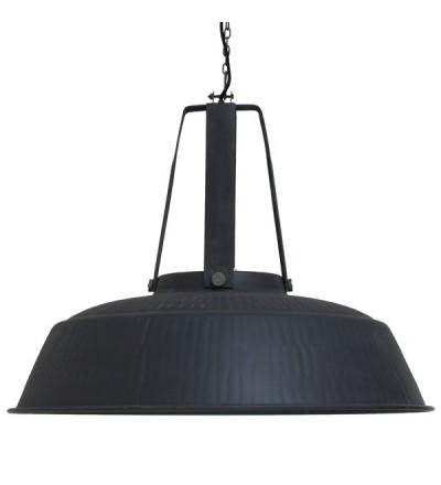 Lampa Workshop XL rustykalna - czarna, matowa