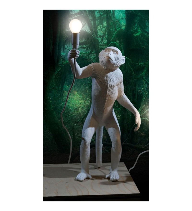 Lampa Monkey Seletti - wersja stojąca, do wnętrza