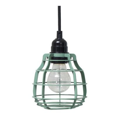 Lampa LAB z wtyczką HK Living - zielona