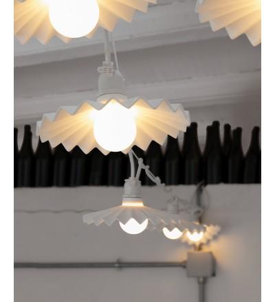 Abażury Cappello Seletti do lamp Bella Vista - biały, zestaw 10 szt.