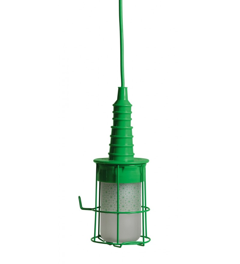 Lampa Ubiqua Seletti - zielona