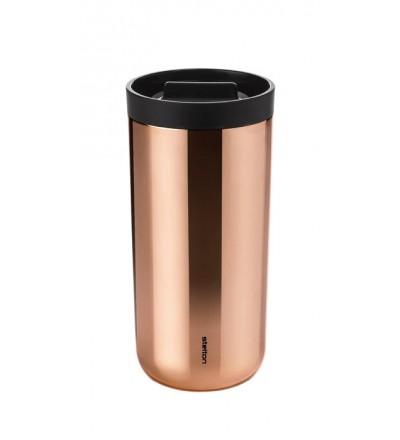 Kubek termiczny To Go 2.0 Stelton 400 ml - miedziany
