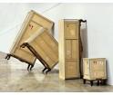 2 - drzwiowa szafka TV z 2 szufladami Export Comò Seletti - 2 opcje