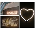 Lampa neonowa ścienna Neon Art Seletti różne rodzaje znaków