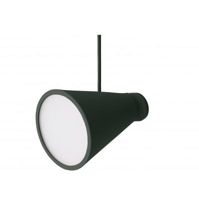 Lampa Bollard Menu - ciemnozielona