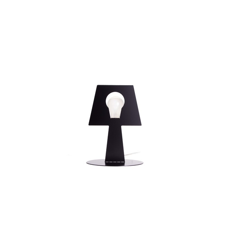 Lampa stojąca Bendino - czarna