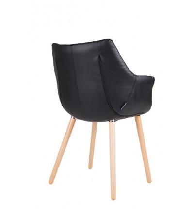 Krzesło tapicerowane Eleven / Twelve Zuiver - czarne