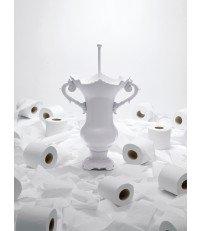 Szczotka toaletowa WC Royale Seletti - biała