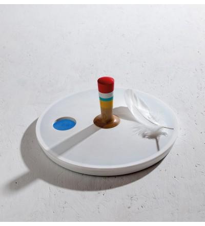 Waga łazienkowa Spinny_top Seletti - biała