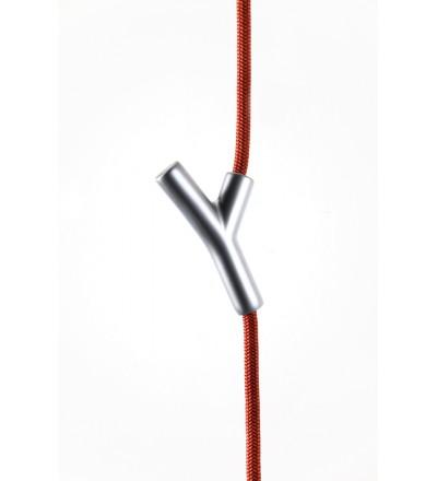 Wieszak - lina Wardrope Authentics  czerwono - srebrny
