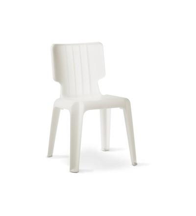 Krzesło Wait Authentics - białe