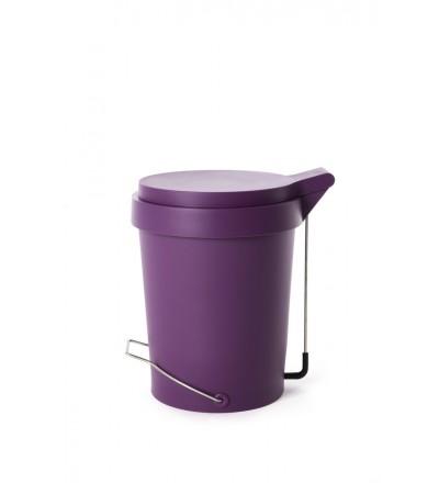 Kosz na śmieci Tip Authentics - 15 l, fioletowy