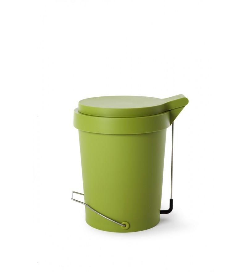 Kosz na śmieci Tip Authentics - 15 l, zielony