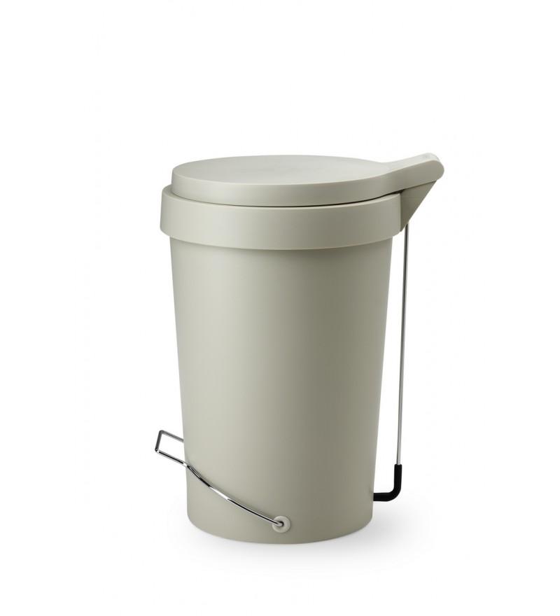 Kosz na śmieci Tip Authentics - 30 l, szaro - beżowy jasny