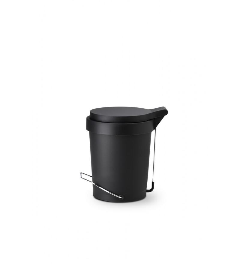 Kosz na śmieci Tip Authentics - 7 l, czarny