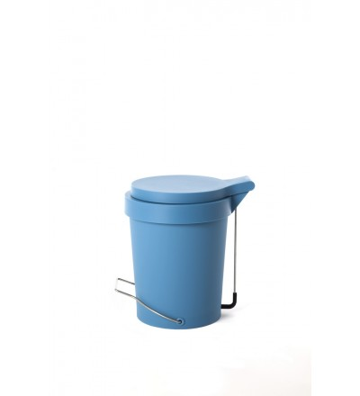 Kosz na śmieci Tip Authentics - 7 l, turkusowy