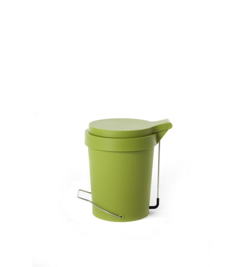 Kosz na śmieci Tip Authentics - 7 l, zielony