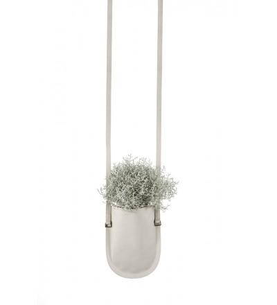 Wisząca donica Urban Garden Authentics - Ø 10 cm, beżowa