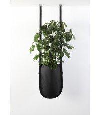 Wisząca donica Urban Garden Authentics - Ø 20 cm, czarna zieleń