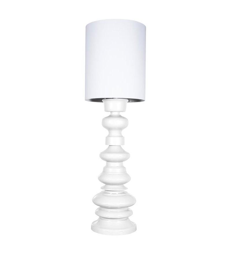 Lampa stojąca podłogowa LOFT HK Living - biała