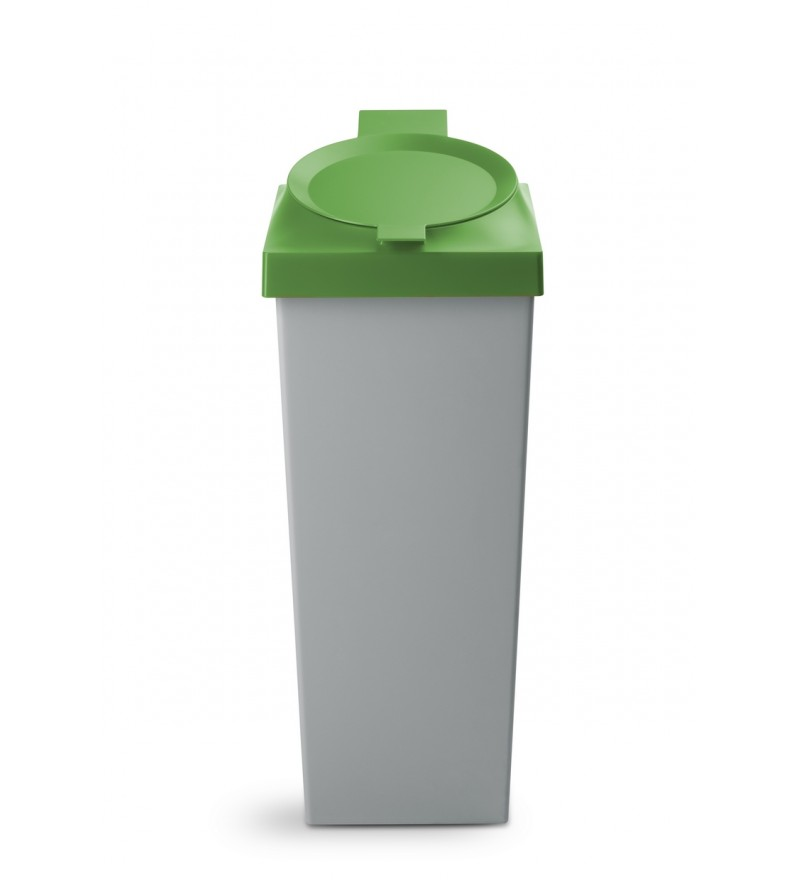 Kosz do segregacji śmieci Top 20 l Authentics - zielony