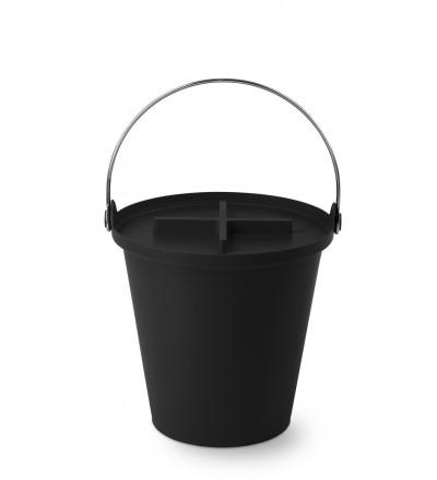 Kosz na śmieci H2O 13 l Authentics - czarny