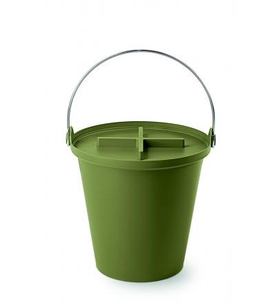 Kosz na śmieci H2O 13 l Authentics - zielony