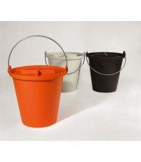 Kosz na śmieci H2O 13 l Authentics - pomarańczowy