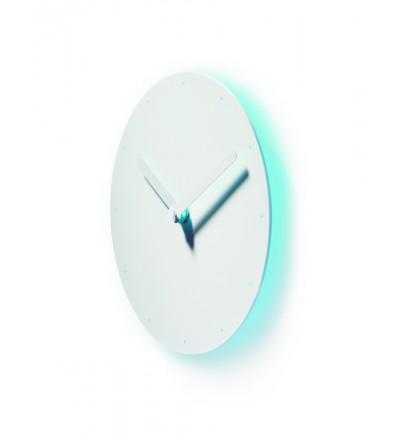 Zegar ścienny Corona Authentics - biało-niebieski