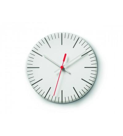 Zegar ścienny Split time Authentics - biały