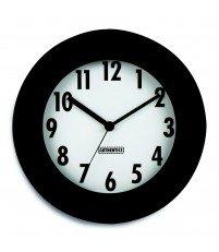 Zegar ścienny Time Authentics - czarno-biały
