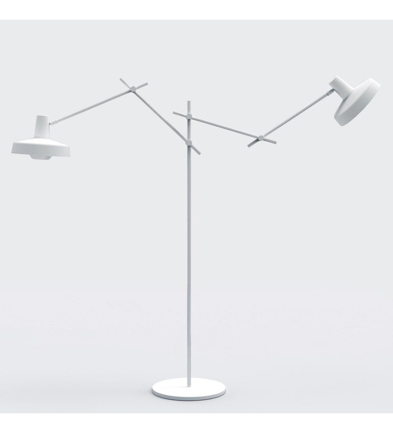 Lampa podłogowa ARIGATO FLOOR 2 - biała